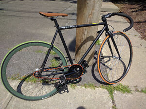 Fixie with one front brake for 400$ non-nego