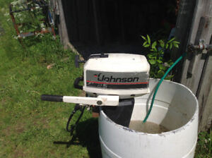 SOLD SOLD2.5hp Johnson outboard for sale. Works awesome