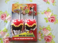 Power Ranger Dino Supercharge Walkie Talkies, Brand new in box