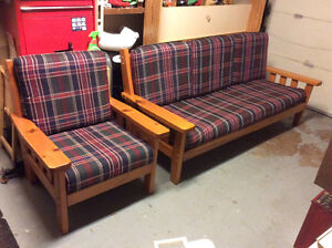 Solid wooden couch St. John's Newfoundland image 2