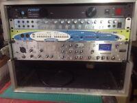 Recording studio clear out Focusrite furman midiman 10 u rack