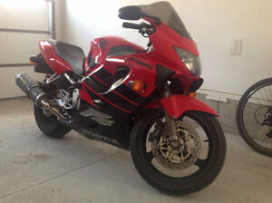 CBR600 F4 Honda year: 2000 two brother exhaust