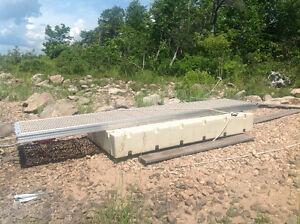 boat dock and ramp for  sale