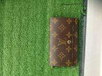 Genuine Louis Vuitton Monogram Porte Monnaie Wallet