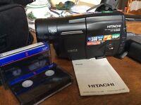 Hitachi camcorder