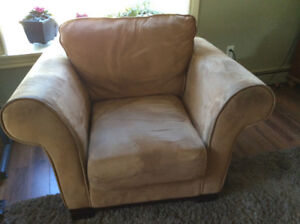 3 Seater sofa and Chair with Ottoman
