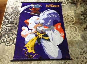 Large INUYASHA Fabric Wall Scrolls / Banners  $10.00 each