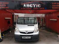 Vauxhall vivaro minibus ARCTIC VAN SALES