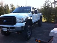 """2006 f250 lifted 8"""" 37"""" tires"""