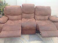Sofa - 5 Piece Recliner