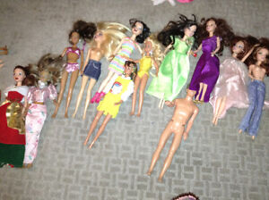 Huge collection of Barbie dolls for sale
