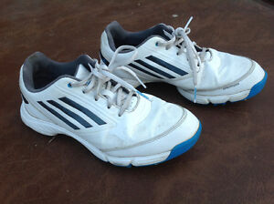 Kids size 5 Adidas golf shoes
