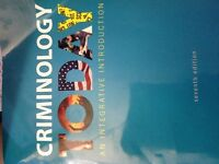 Criminology Today An Intergrative Introduction