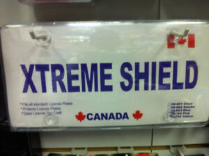 PLATE SHIELD Protective Bubble License Plate Cover CLEAR