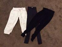 3 pairs pants i think age 11/12