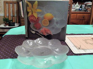 Serving dish crystal