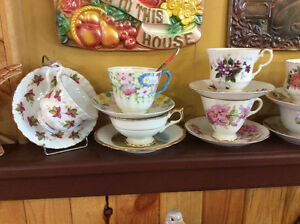 Vintage Antique Cup and Saucer Sets