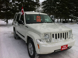 2009 JEEP LIBERTY SPORT 4x4 REDUCED $1500 OFF