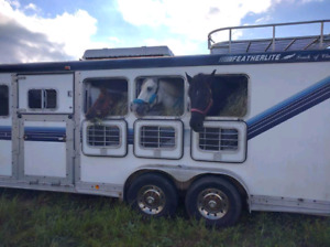 Trailering services prim, but not limited to horses