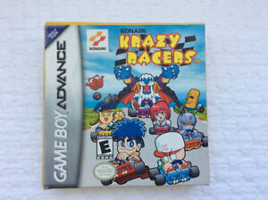 Krazy Racers (GBA / Konami - 2001) - complete / great cond.