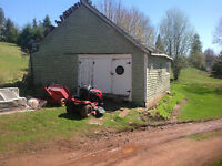 Looking for a price to tear down barn