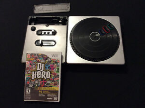 DJ hero for wii. With mixer board.