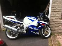 2002 gsxr 750 certified and ready to go