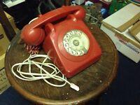 Two retro phones