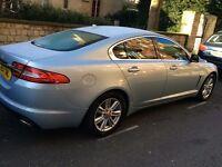 2014 Jaguar XF luxury model with winter pack