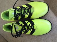 Adidas Ace trainers/Astros size 8.5