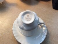 Vintage Royal Albert Coffee Set bone china tea ware