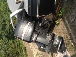 Fast motor and boat for sale