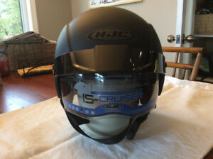 New unused Motorcycle helmet hjc is cruiser