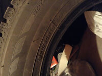 Winter tire like brand new 225 r60/16 only used for 20 days