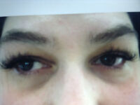Microblading teeth whitening lash extensions