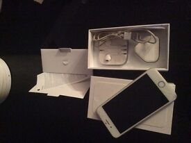 Silver apple iPhone 5