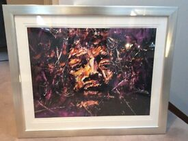 Jimmy Hendrix framed picture