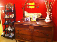 ANTIQUE DOUBLE BEDROOM SET