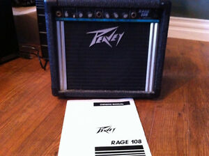 PEAVEY Rage 108 amplifier, comes with manual. $100.