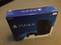 PS4 Pro 1Tb brand-new sealed