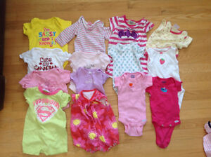 Baby girl clothes 0-6 mths