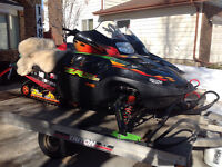 His and hers Cats with Triton trailer