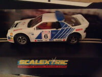 SCALEXTRIC VINTAGE CAR FORD RS 200 BOXED