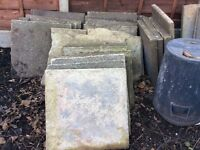 FREE Concrete paving slabs