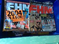 37 FHM Books in excellent condition. Nov 1999 to Jan 2006
