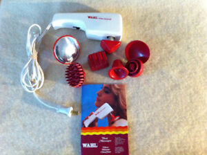 Wahl massager with heat attachment
