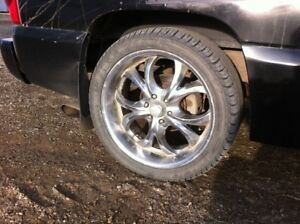 23 inch Chevy truck wheels
