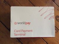 World Pay card payment terminal - Brand new and unused