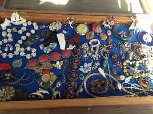 Vintage Jewelry Some Signed Weiss, Haskell,Rafael,Trifari