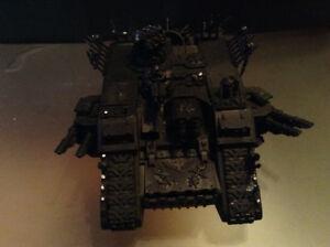 chaos land raider - warhammer 40k